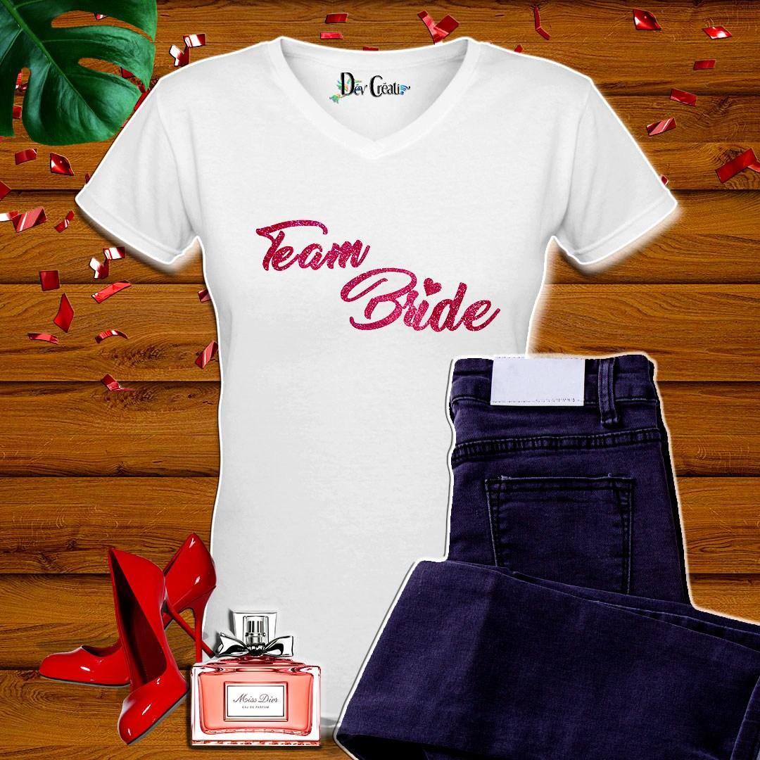 Mockup-T-shirt-Team-Bride
